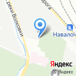 Нева Ай Ти на карте Санкт-Петербурга