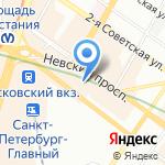 АКБ Российский капитал на карте Санкт-Петербурга