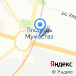 Магазин алкогольной продукции на карте Санкт-Петербурга