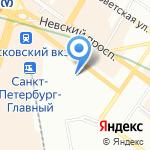 Мелиан на карте Санкт-Петербурга