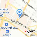 Термолайн Инжиниринг на карте Санкт-Петербурга