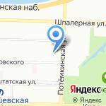 Мастер ОК на карте Санкт-Петербурга