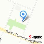 Арфис на карте Санкт-Петербурга