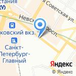 Средняя общеобразовательная школа №153 на карте Санкт-Петербурга