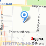 Интеграл на карте Санкт-Петербурга