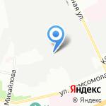 Петрозолото на карте Санкт-Петербурга