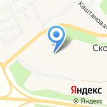 Yolkki Village на карте Санкт-Петербурга