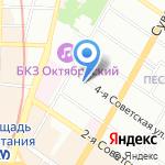 Антисептик на карте Санкт-Петербурга