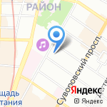 Фрустайл на карте Санкт-Петербурга