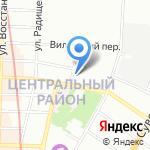 Магазин зоотоваров и аквариумов на карте Санкт-Петербурга
