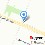 Магазин фруктов и овощей на карте Санкт-Петербурга