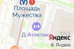Схема проезда до компании Пересвет в Санкт-Петербурге