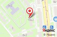 Схема проезда до компании Свирь в Санкт-Петербурге