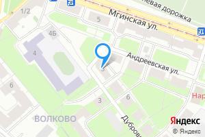 Студия в Санкт-Петербурге Фрунзенский район, Андреевская ул., 3