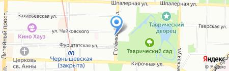 НАКА ЧАЙ на карте Санкт-Петербурга