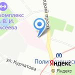 Санкт-Петербургский НИИ фтизиопульмонологии на карте Санкт-Петербурга