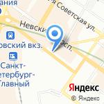 Сентябрь на карте Санкт-Петербурга