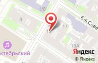 Схема проезда до компании Регион в Санкт-Петербурге