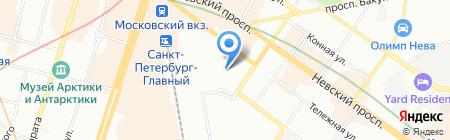 Умная электроника на карте Санкт-Петербурга