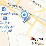 Мастер-Шеф на карте Санкт-Петербурга