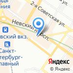 Gamak на карте Санкт-Петербурга