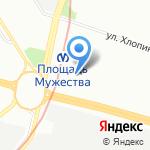 Капель на карте Санкт-Петербурга