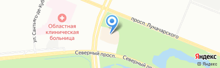 Перекресток на карте Санкт-Петербурга