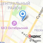 АЛЬТБУРГ на карте Санкт-Петербурга