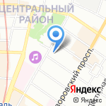 В7 на карте Санкт-Петербурга