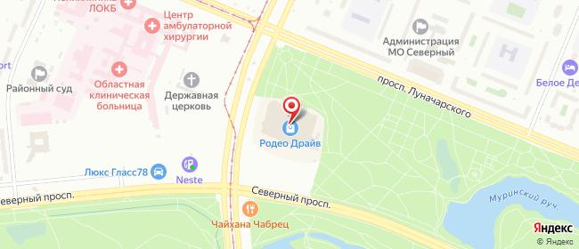 Карта расположения пункта доставки Санкт-Петербург Культуры в городе Санкт-Петербург
