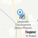 Форц на карте Санкт-Петербурга
