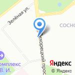 Зооландия на карте Санкт-Петербурга