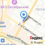 Детская больница №19 им. К.А. Раухфуса на карте Санкт-Петербурга