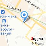Фирма РОСС на карте Санкт-Петербурга