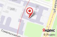 Схема проезда до компании Электроимпульсные Брикетные Технологии в Санкт-Петербурге