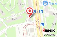 Схема проезда до компании И-Проджект в Санкт-Петербурге