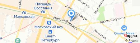 Удачные на карте Санкт-Петербурга