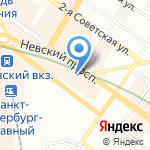 Rinaldi на карте Санкт-Петербурга