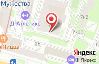 Схема проезда до компании Ви Энд Ди в Санкт-Петербурге