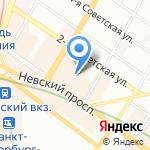 Адреса на карте Санкт-Петербурга