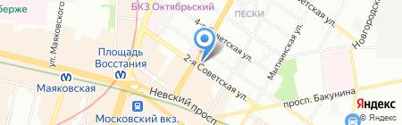 Qiwi на карте Санкт-Петербурга