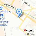 СМУ-19 Метрострой на карте Санкт-Петербурга