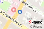 Схема проезда до компании КУХНЯ в Санкт-Петербурге