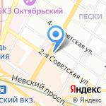 Хачапури & Хинкали на карте Санкт-Петербурга