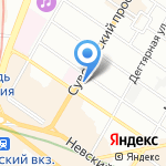 Valeri hotel на карте Санкт-Петербурга