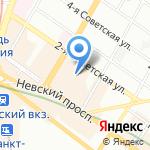 Трето на карте Санкт-Петербурга