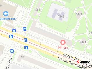 Продажа торгового помещения 339 м2, метро Проспект Просвещения