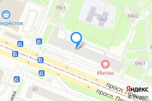 Однокомнатная квартира в Санкт-Петербурге м. Проспект Просвещения, проспект Просвещения, 62