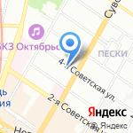 Стоун-Сервис-Нева на карте Санкт-Петербурга