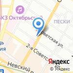 Клининговая компания на карте Санкт-Петербурга